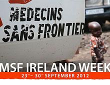 Posters for Médecins Sans Frontières Ireland