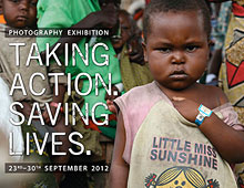 'Taking Action. Saving Lives' exhibition