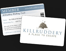 Killruddery Membership Cards