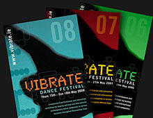 Vibrate Dance Festival catalogue