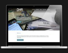 DHR Communications website