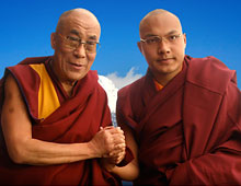 Postcards for Karmapa European Visit 2014