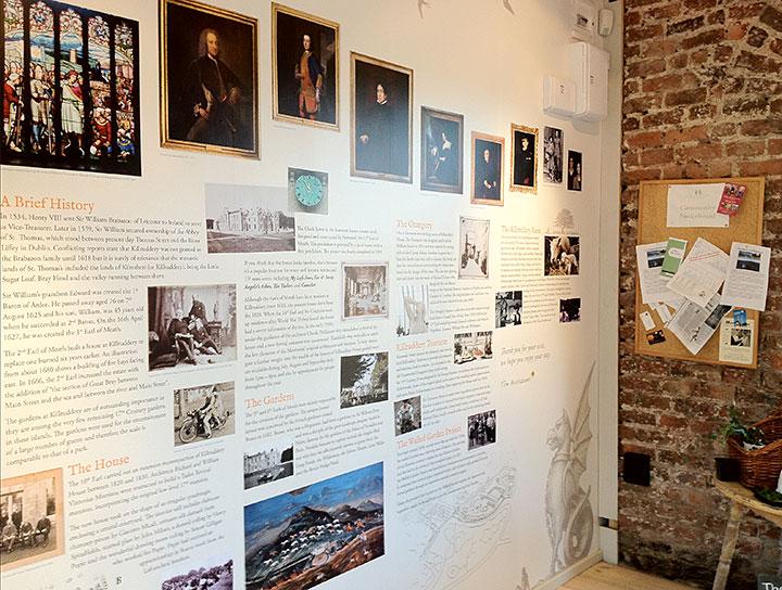Killruddery History Wall