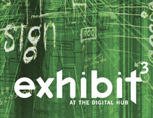 Exhibit – Example Flyer from one exhibition