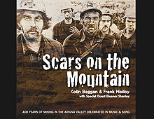 Scars on the Mountain – Music CD