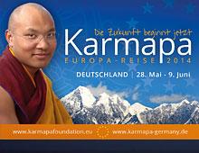 Karmapa European Visit 2014