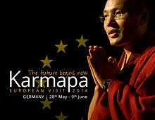 Commemorative Programme of the 17th Karmapa's visit to Europe