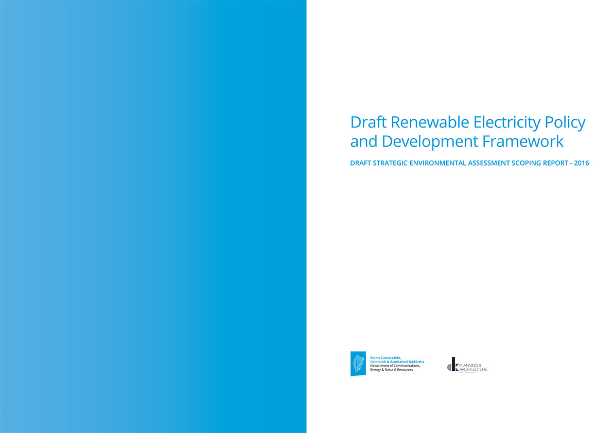 Draft Renewable Electricity Policy and Development Framework 2
