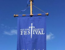 Custom made Festival Launch banners
