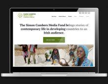 Simon Cumbers Media Fund website