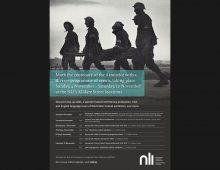 World War Ireland Exhibition poster